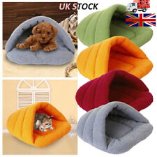 Pet Cave Sleeping Bed Warming Mat Cat Dog Luxury House Plush Basket Puppy Nest