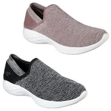 Skechers You - Rise Trainers Womens Memory Foam Lifestyle Flats Shoes 14958
