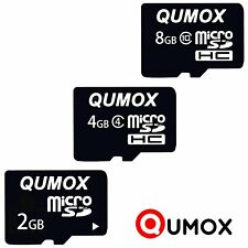 Qumox 2GB 4GB 8GB Micro SD HC SDHC Flash Memory Card TF