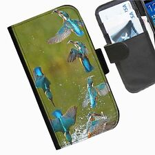 Uccello Blu Kingfisher CUSTODIA COVER TELEFONO DA IPHONE SAMSUNG SONY BLACKBERRY