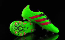 huge discount df6fe 19407 Adidas Ace 16.1 Fg Ag  Size 34 - 41  Leather Football Boots AF5090