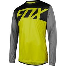 Fox Ranger LS MTB Jersey maniche lunghe - Giallo Scuro MOTOCROSS ENDURO MX Cross