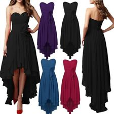 Sexy Women's Formal Evening Prom Cocktail Party High-Low Gown Bridesmaid Dress