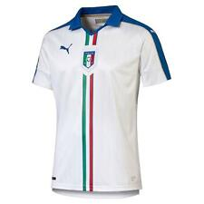 ITALIA PUMA MAGLIA GARA AWAY 2016 EUROPEI FRANCIA+patch euro 2016 e uefa respect