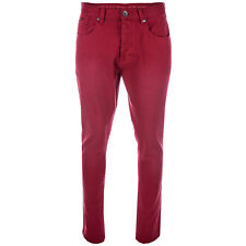 Fly53 Pantalon chino Button Rouge Homme
