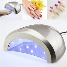 Rapid Nail Dryer Gel Polish UV/LED Lamps Light Curing Manicure Machine 48W