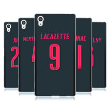 OFFICIAL ARSENAL FC 2017/18 PLAYERS THIRD KIT 2 SOFT GEL CASE FOR SONY PHONES 2