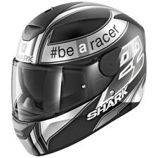 Shark D-skwal Replica Sam Lowes Mat Black / Anthracite / White , Cascos Shark