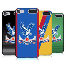 OFFICIAL CRYSTAL PALACE FC 2016/17 KIT BLACK SOFT GEL CASE FOR APPLE iPOD TOUCH