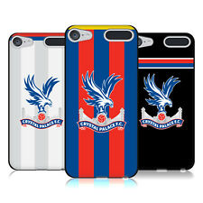 OFFICIAL CRYSTAL PALACE FC 2017/18 KIT BLACK SOFT GEL CASE FOR APPLE iPOD TOUCH