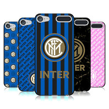 OFFICIAL INTER MILAN 2017/18 CREST PATTERNS BLACK GEL CASE FOR APPLE iPOD TOUCH