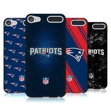 OFFICIAL NFL 2017/18 NEW ENGLAND PATRIOTS BLACK GEL CASE FOR APPLE iPOD TOUCH