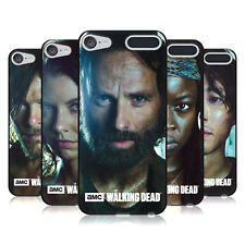 OFFICIAL AMC THE WALKING DEAD CHARACTERS BLACK GEL CASE FOR APPLE iPOD TOUCH