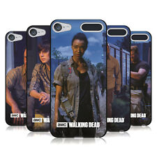 AMC THE WALKING DEAD FILTERED CHARACTERS BLACK GEL CASE FOR APPLE iPOD TOUCH