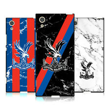 OFFICIAL CRYSTAL PALACE FC 2017/18 MARBLE BLACK SOFT GEL CASE FOR SONY PHONES