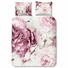 Good Morning Housse de Couette Taie d'Oreiller 5028-P Peonies Multi-Taille Rose