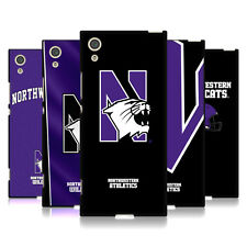 OFFICIAL NORTHWESTERN UNIVERSITY NU BLACK SOFT GEL CASE FOR SONY PHONES