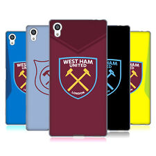OFFICIAL WEST HAM UNITED FC 2017/18 CREST KIT SOFT GEL CASE FOR SONY PHONES 2