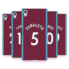 OFFICIAL WEST HAM UNITED FC 2017/18 HOME KIT 1 SOFT GEL CASE FOR SONY PHONES 2