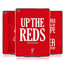 LIVERPOOL FC LFC 2017/18 KINGS OF EUROPE SOFT GEL CASE FOR APPLE SAMSUNG TABLETS
