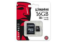 Original Kingston 16/32/64/128/256GB Micro SD SDHC/SDXC Memory Card Class 10