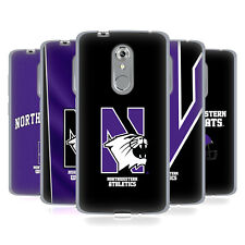OFFICIAL NORTHWESTERN UNIVERSITY NU SOFT GEL CASE FOR ZTE PHONES