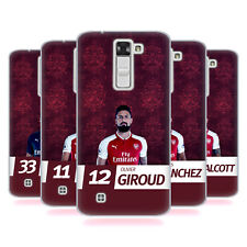 OFFICIAL ARSENAL FC 2017/18 FIRST TEAM GROUP 1 SOFT GEL CASE FOR LG PHONES 2