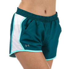 Under Armour Short Fly By Turquoise Femme