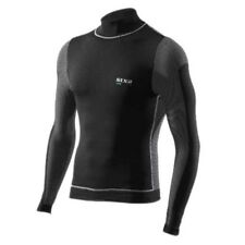 Sixs Total Wind Protection Tee Black Carbon , Intimo Sixs , motociclismo