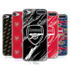 OFFICIAL ARSENAL FC 2017/18 CREST PATTERNS GEL CASE FOR APPLE iPOD TOUCH MP3