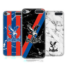 OFFICIAL CRYSTAL PALACE FC 2017/18 MARBLE SOFT GEL CASE FOR APPLE iPOD TOUCH MP3