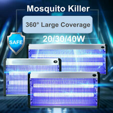 20/30/40W Electric Insect Killer UV-A Mosquito Pest Fly Bug Zapper Catcher Trap