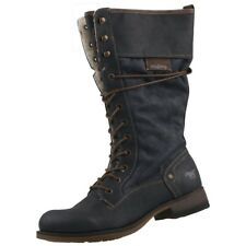 NUOVO Mustang scarpe donna langschaft-stiefel FODERATO boots stivali donna