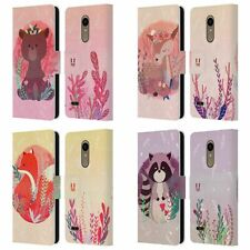 HEAD CASE DESIGNS WOODLAND ANIMALS LEATHER BOOK WALLET CASE FOR LG PHONES 1