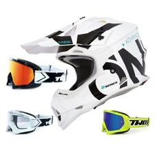 Oneal 2series RL CASCO CROSS mancha negro blanco two-x Carrera Gafas Mx