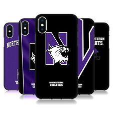 OFFICIAL NORTHWESTERN UNIVERSITY NU BLACK SOFT GEL CASE FOR APPLE iPHONE PHONES