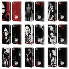 OFFICIAL AMC THE WALKING DEAD GORE LEATHER BOOK CASE FOR APPLE iPOD TOUCH MP3