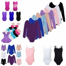 Girls Ballet Tutu Leotard Dance Skating Gymnastic Dress Ballerina Skirt Costume