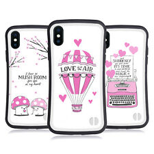 HEAD CASE DESIGNS VALENTINO FUCSIA CASE IBRIDA PER APPLE iPHONES TELEFONI