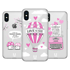 HEAD CASE DESIGNS VALENTINO FUCSIA CASE IN GEL PER APPLE iPHONE TELEFONI