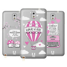 HEAD CASE DESIGNS VALENTINO FUCSIA COVER MORBIDA IN GEL PER SAMSUNG TELEFONI 2