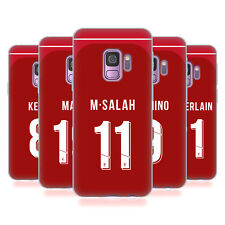 LIVERPOOL FC LFC 2018/19 PLAYERS HOME KIT 1 CASE IN GEL PER SAMSUNG TELEFONI 1