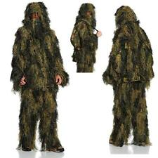 Mil-Tec 4 Pièces Camouflage Sniper Ghillie Suit Forêt Airsoft Chasse 3D