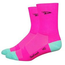 Defeet Aireator D Logo Pink , Calcetines Defeet , ciclismo , Ropa hombre