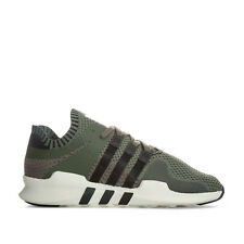 Mens adidas Originals Eqt Support Adv Primeknit Trainers In Khaki