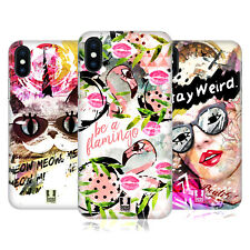 HEAD CASE DESIGNS ARTE STRANA COVER RETRO RIGIDA PER APPLE iPHONE TELEFONI