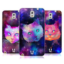 HEAD CASE DESIGNS GATTI GALASSIA COVER MORBIDA IN GEL PER SAMSUNG TELEFONI 2