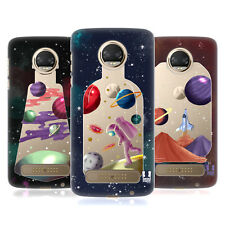 HEAD CASE DESIGNS BOTTIGLIE SPAZIO COVER RETRO RIGIDA PER MOTOROLA TELEFONI 1