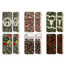 HEAD CASE DESIGNS CAMO ALLA MODA ORO COVER CONTORNO PER APPLE iPHONE TELEFONI