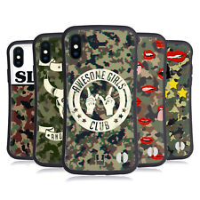 HEAD CASE DESIGNS CAMO ALLA MODA CASE IBRIDA PER APPLE iPHONES TELEFONI
